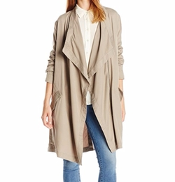 BB Dakota - Carthy Drape Front Coat