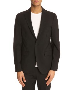 Acne Studios  - Drifter Black Wool Jacket