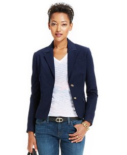 Tommy Hilfiger  - Long-Sleeve Double-Button Blazer