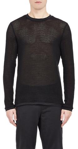 Helmut Lang  - Mesh Long-Sleeve T-Shirt