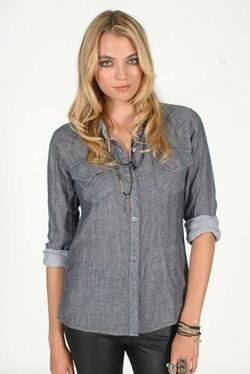 Rails - Kendra Gauze Plaid Shirt