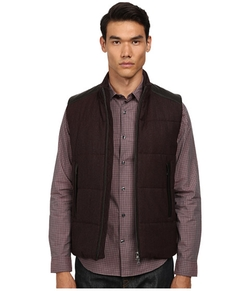 Vince - Quilted Vest W/ Leather Piecing