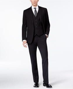Kenneth Cole Reaction - Slim-Fit Vested Suit