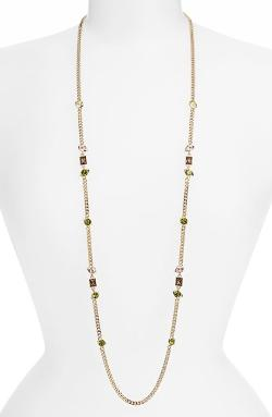 Givenchy - Crystal Station Necklace
