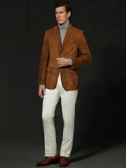 Ralph Lauren - Suede Suffolk Sport Coat