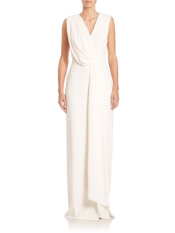 Jason Wu  - Drape-Front Dress