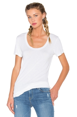 Cotton Citizen - Mykonos Scoop Neck Tee