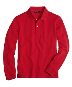 Brooks Brothers - Long-Sleeve Polo Shirt