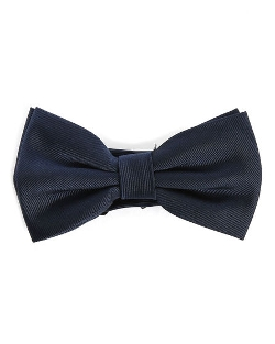 The Kooples - Navy Blue Silk Bow Tie