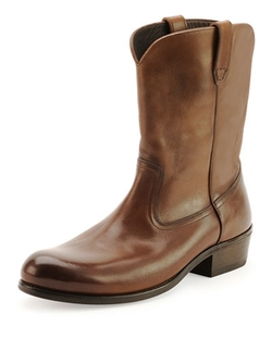Tom Ford - Christopher Leather Cowboy Boot