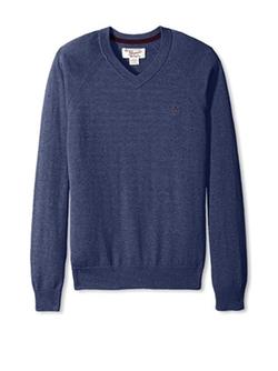 Original Penguin - Long Sleeve Raglan V-Neck Sweater