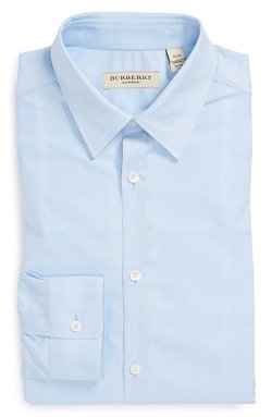 Burberry London  - Treyforth Modern Fit Plaid Dress Shirt