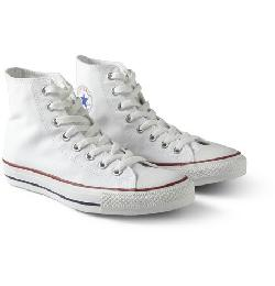 CONVERSE   - CHUCK TAYLOR CANVAS HIGH TOP SNEAKERS