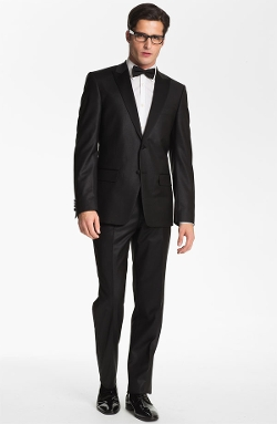 Versace Collection - City Fit Tuxedo Suit