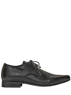 Underground  - Soft Leather Derby Lace-Up Shoes