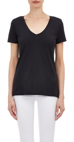 Barneys New York - V-Neck T-Shirt
