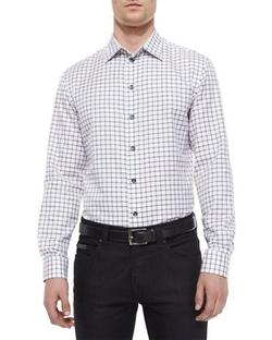 Armani Collezioni  - Check Woven Sport Shirt