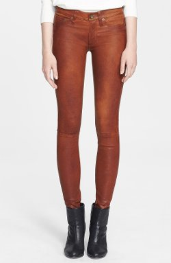 Rag and Bone/Jean - The Leather Skinny Pants