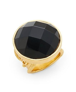 Stephanie Kantis  - Casablanca Faceted Onyx Ring