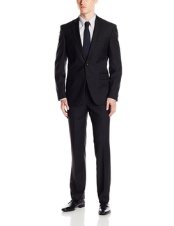 Kenneth Cole New York - Striped Notch Lapel Suit