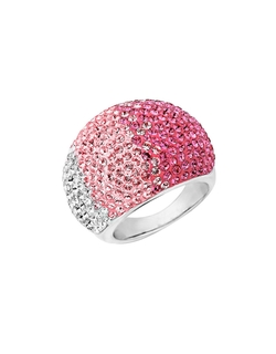 Lord & Taylor - Faded Rose Colored Crystal Ring