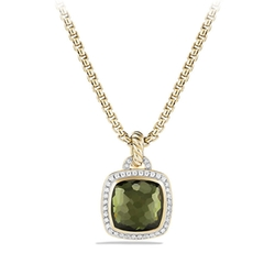 The Albion Collection - Lemon Citrine And Diamonds Necklace