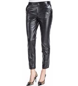 RED Valentino - Slim Leather Pants