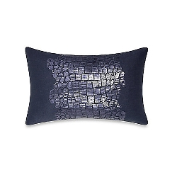 Kenneth Cole Reaction Home - Moon Mist Sequin Python Oblong Toss Pillow