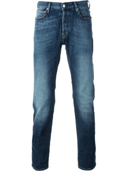 Paul Smith Jeans - Slim Medium Wash Jeans