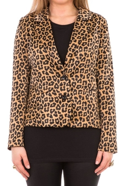 Hidden Fashion - Animal Leopard Blazer