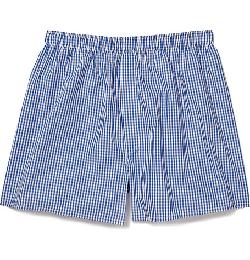 SUNSPEL   - GINGHAM-CHECK COTTON BOXER SHORTS