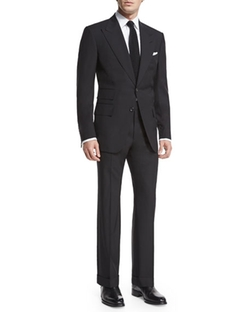 Tom Ford - Windsor Base Peak-Lapel Two-Piece Suit
