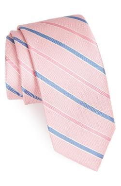 Peter Millar  - Stripe Woven Silk Tie