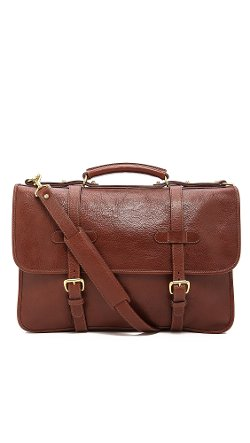 Lotuff Leather  - Bound-Edge English Briefcase