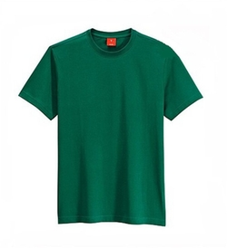 Qien - Pure Green Cotton Shirt