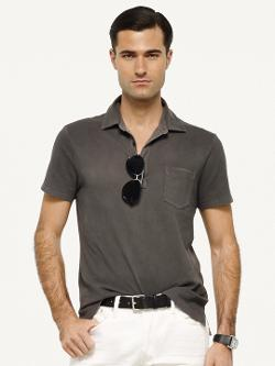 RALPH LAUREN BLACK LABEL DENIM - Stretch Mesh Polo