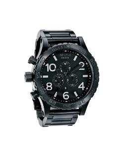 Nixon - All Black Chrono Watch