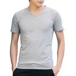 KHQS  - V Neck Short Sleeve T-Shirt