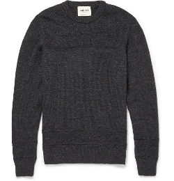 NN.07 - Andrew Panelled Wool Sweater