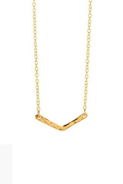 Gorjana - V Bar Necklace