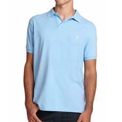 Polo Ralph Lauren - Custom Fit Basic Mesh Knit Polo Shirt