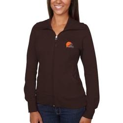 Cleveland Browns - Cutter & Buck Brown Vancouver Full Zip Sweatshirt