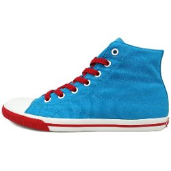 Burnetie  - High Top Cotton Sneakers