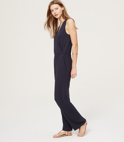 Loft - Beach Wrap Jumpsuit