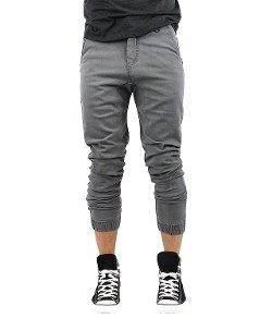 Kayden K - Harem Fit Elastic Cuff Jogger Jeans
