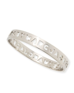 Marc by Marc Jacobs - Cutout Logo Bangle Bracelet.