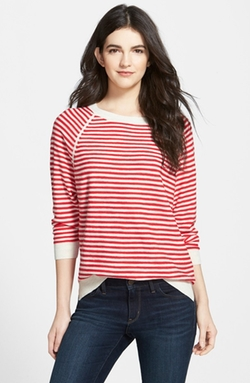 Treasure&bond - Stripe Raglan Sweater