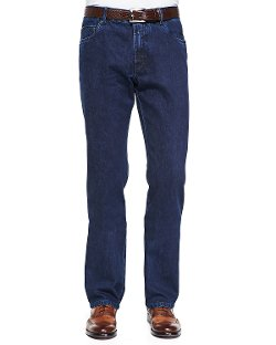 Brioni   - Five-Pocket Selvedge Denim Jeans