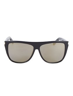 Saint Laurent - Large Wayfarer Sheilds Sunglasses