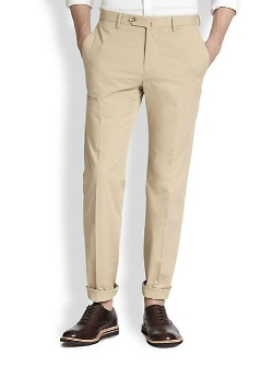 Incotex - Traveller Stretch-Cotton Gabardine Pants